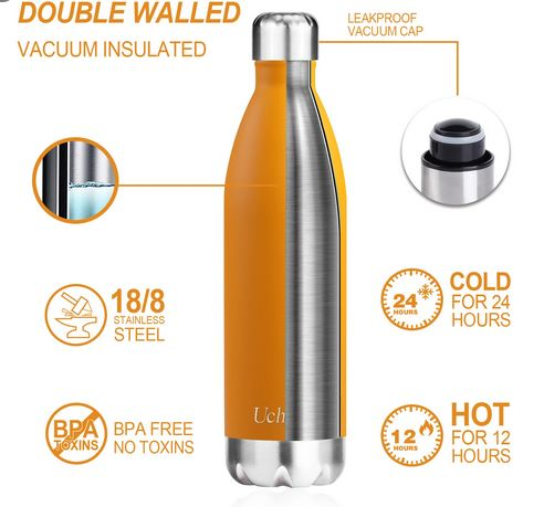 Insulated water bottle performance